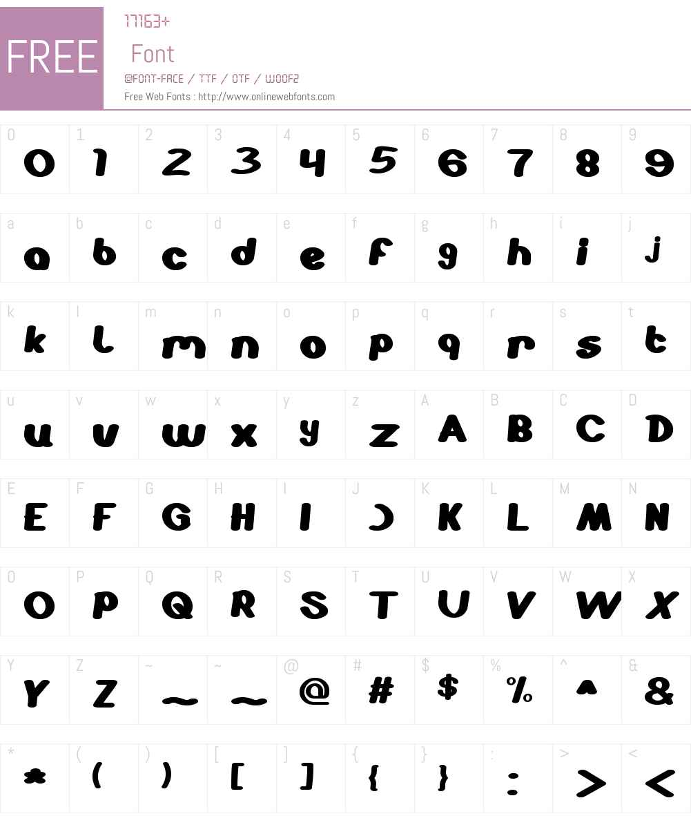 STABILO Spidol Font Screenshots
