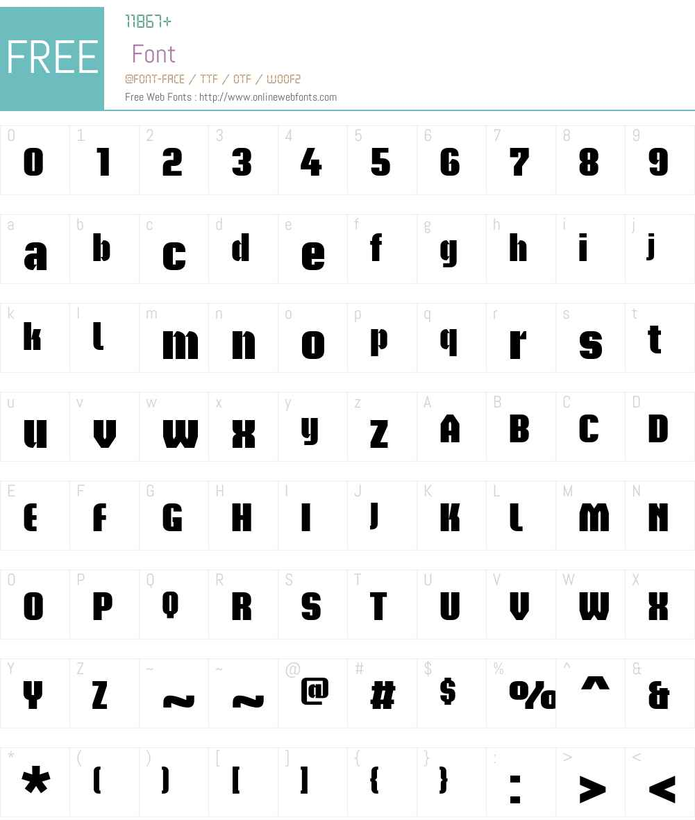 Briem Akademi Std Font Screenshots