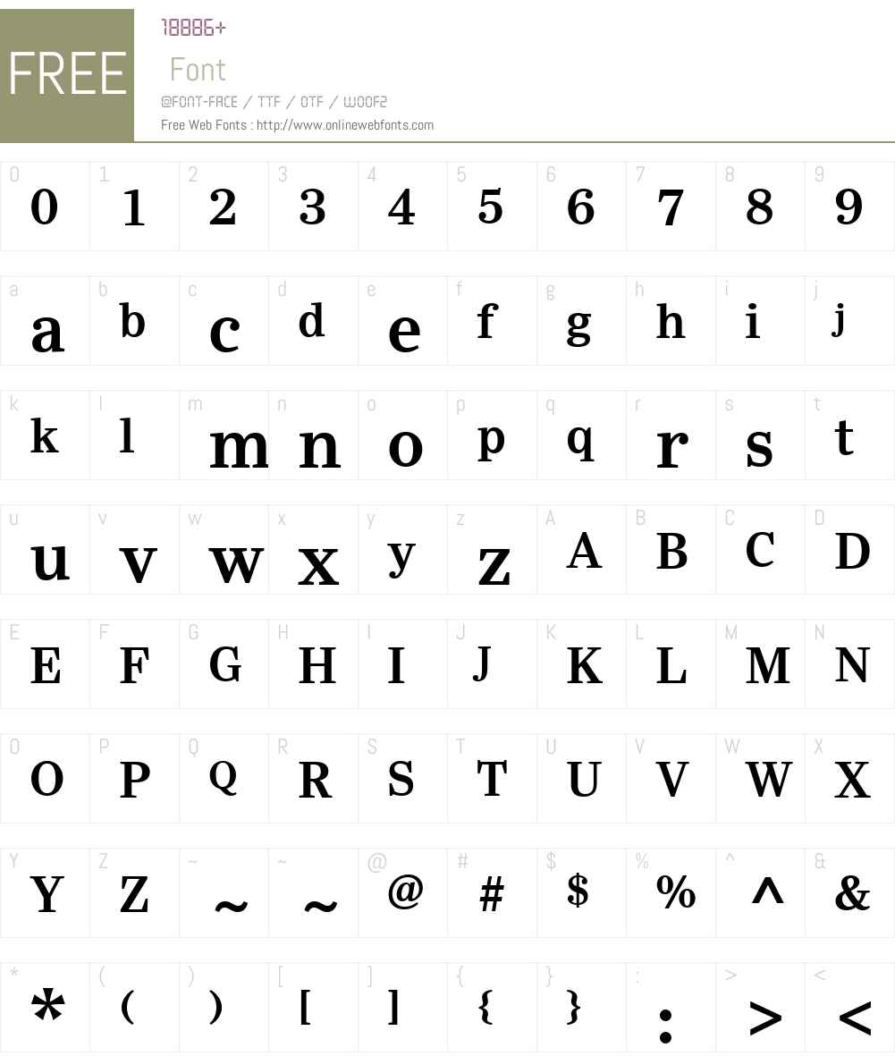 YsobelW01-SemiBold Font Screenshots
