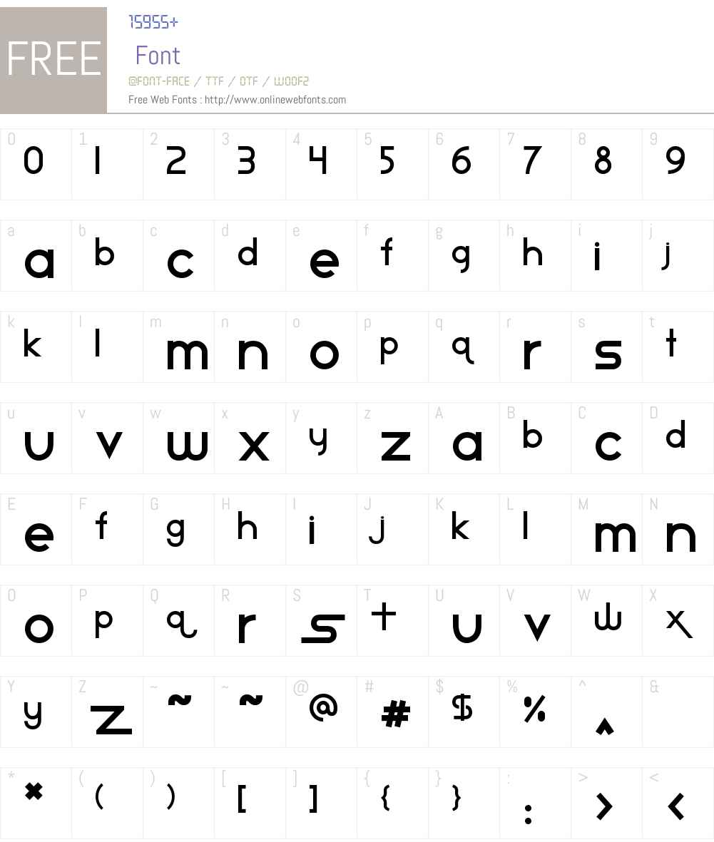 Star Avenue Font Screenshots