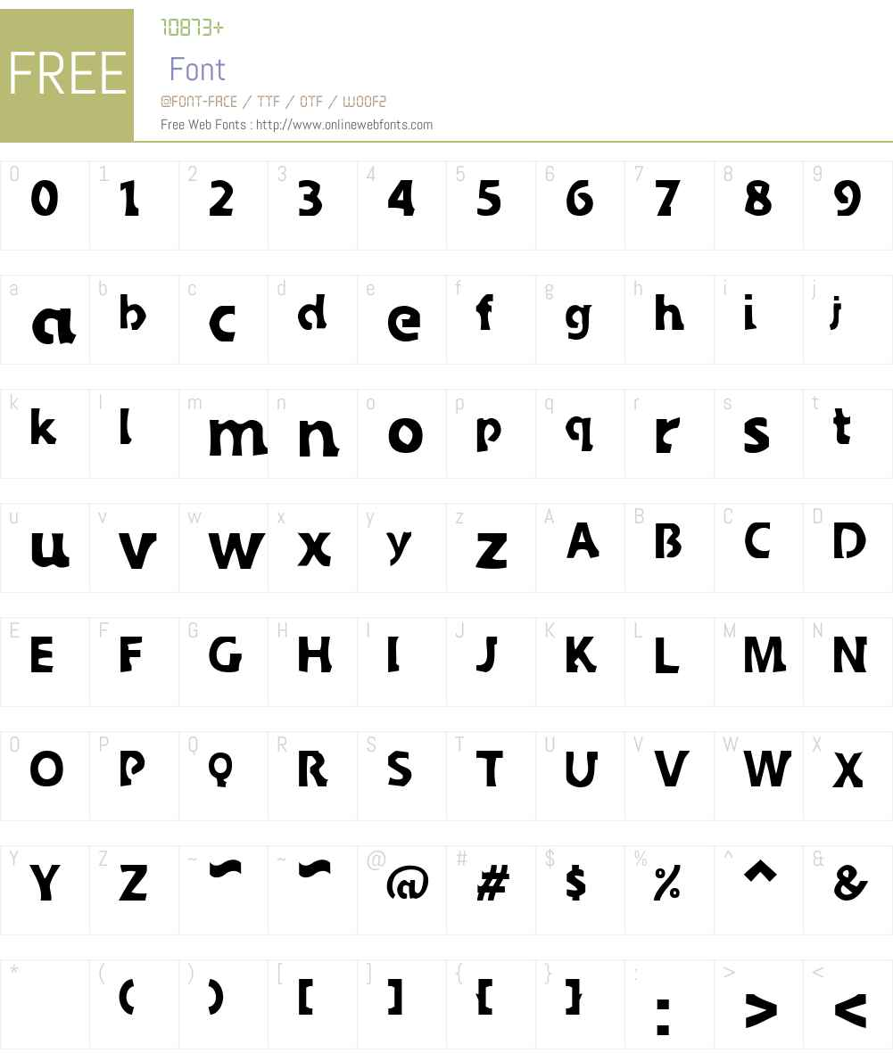 Sledge Font Screenshots