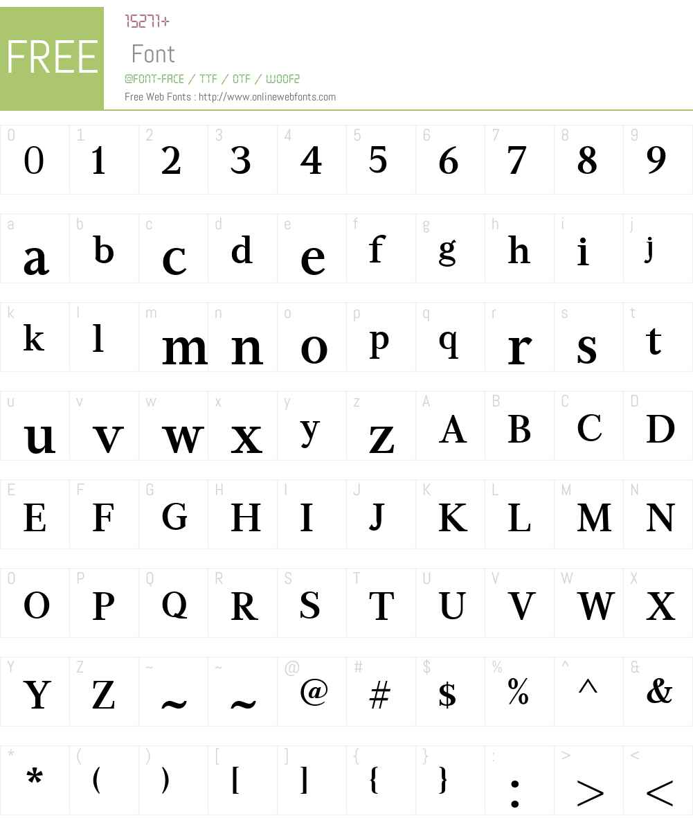GHEAAspetW01-DemiBold Font Screenshots