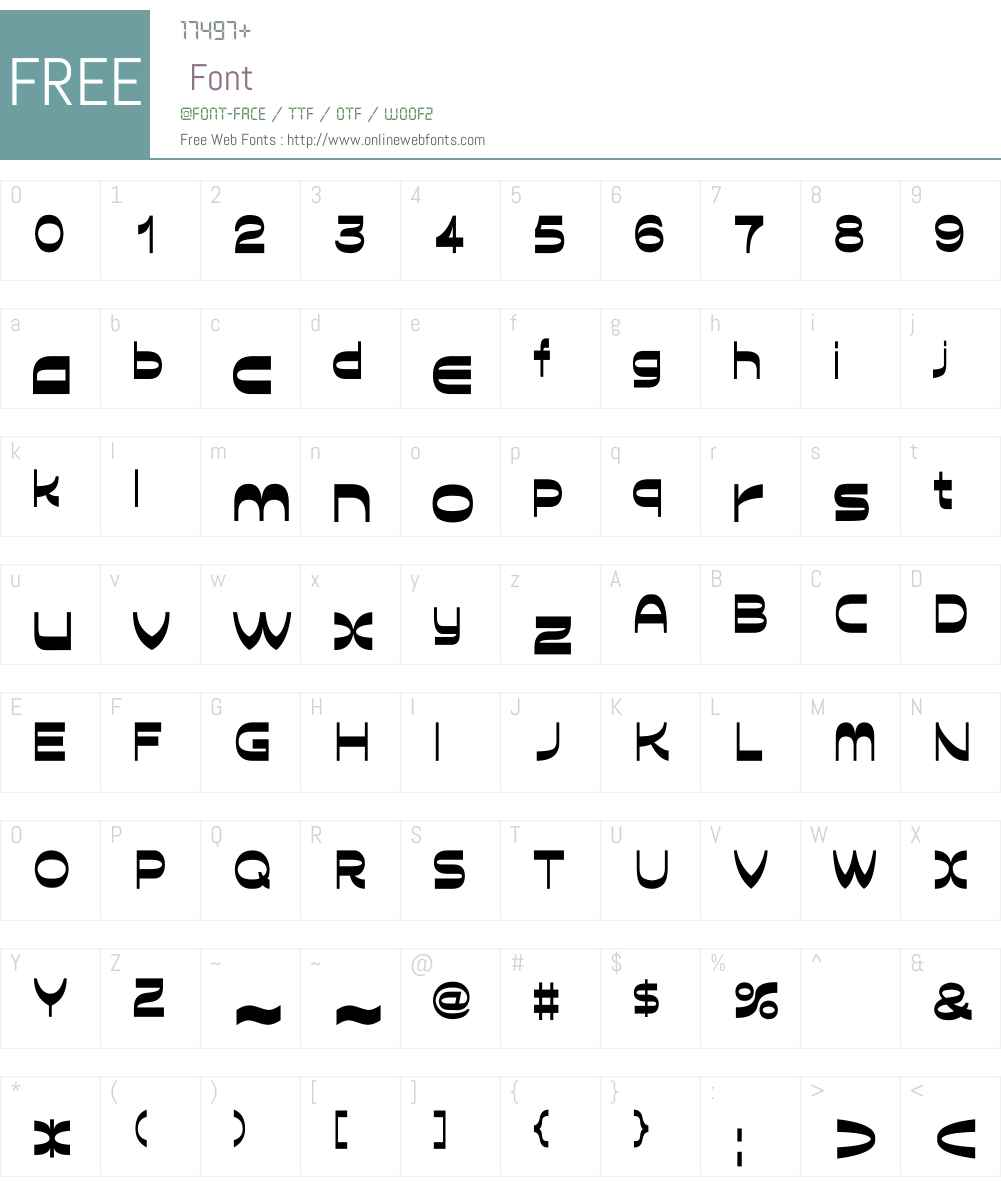 D3 Calligraphism Font Screenshots