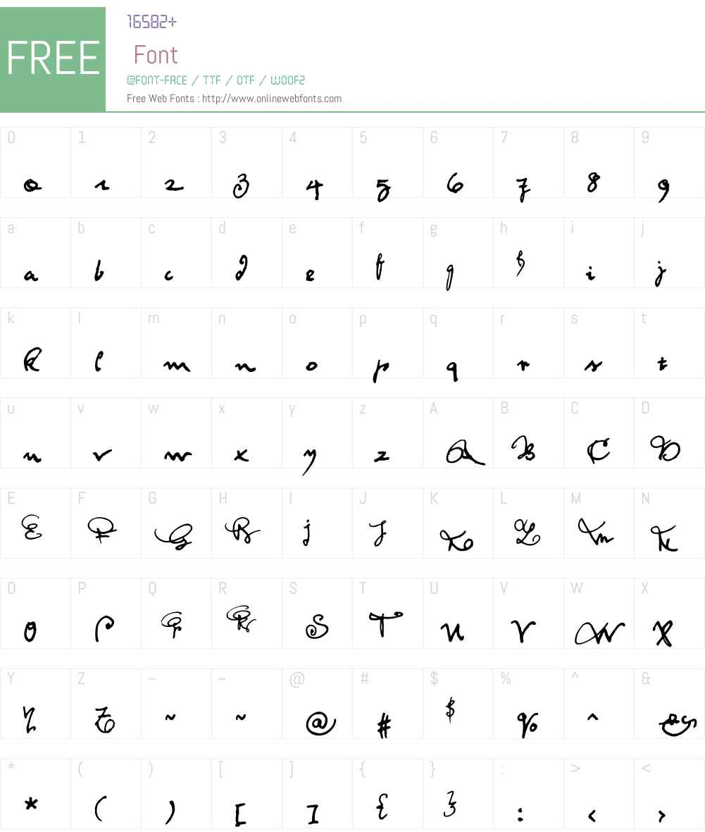 Feltrinelli Font Screenshots