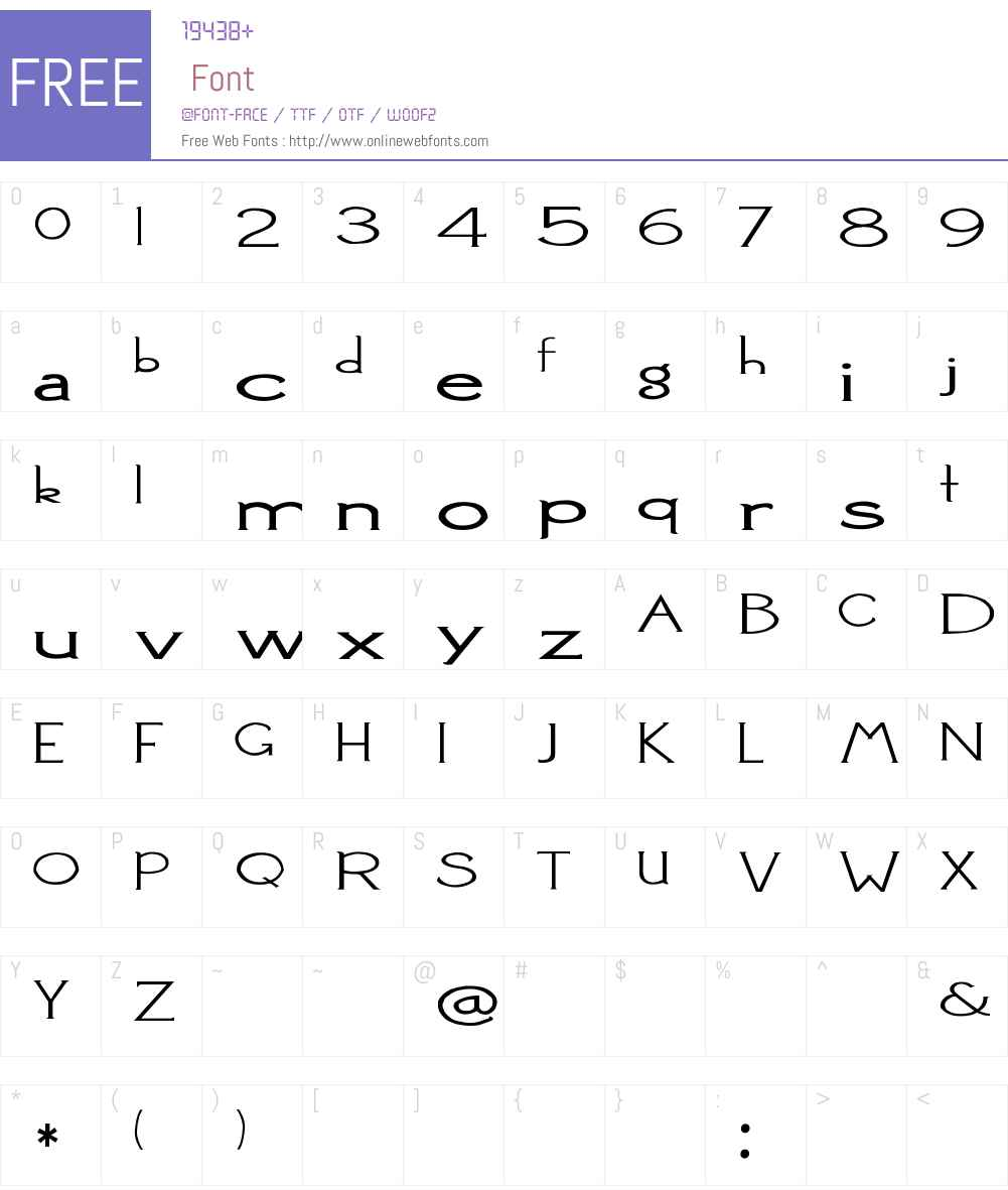 2Peas Squish Font Screenshots