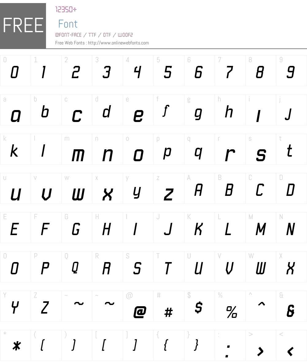 RobustICG Font Screenshots