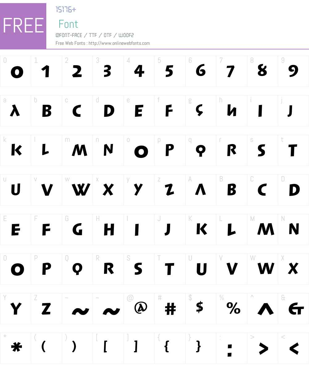 SyntaxLapidarDSLTW01-Blk Font Screenshots