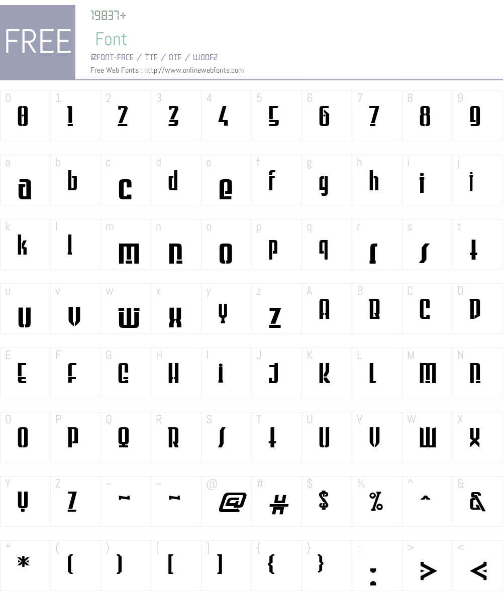 Firstvision Font Screenshots