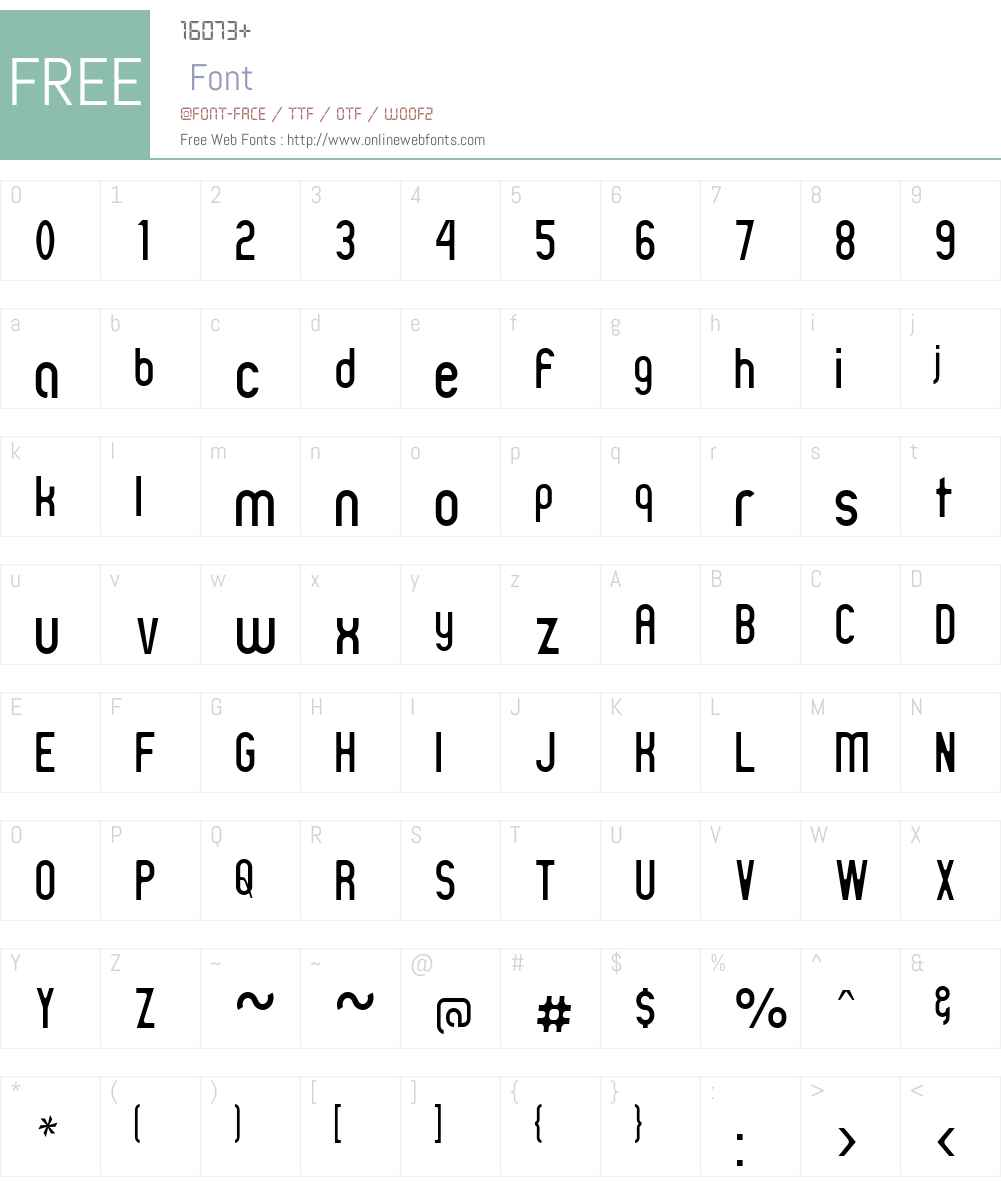 Zillah Modern Thin Font Screenshots