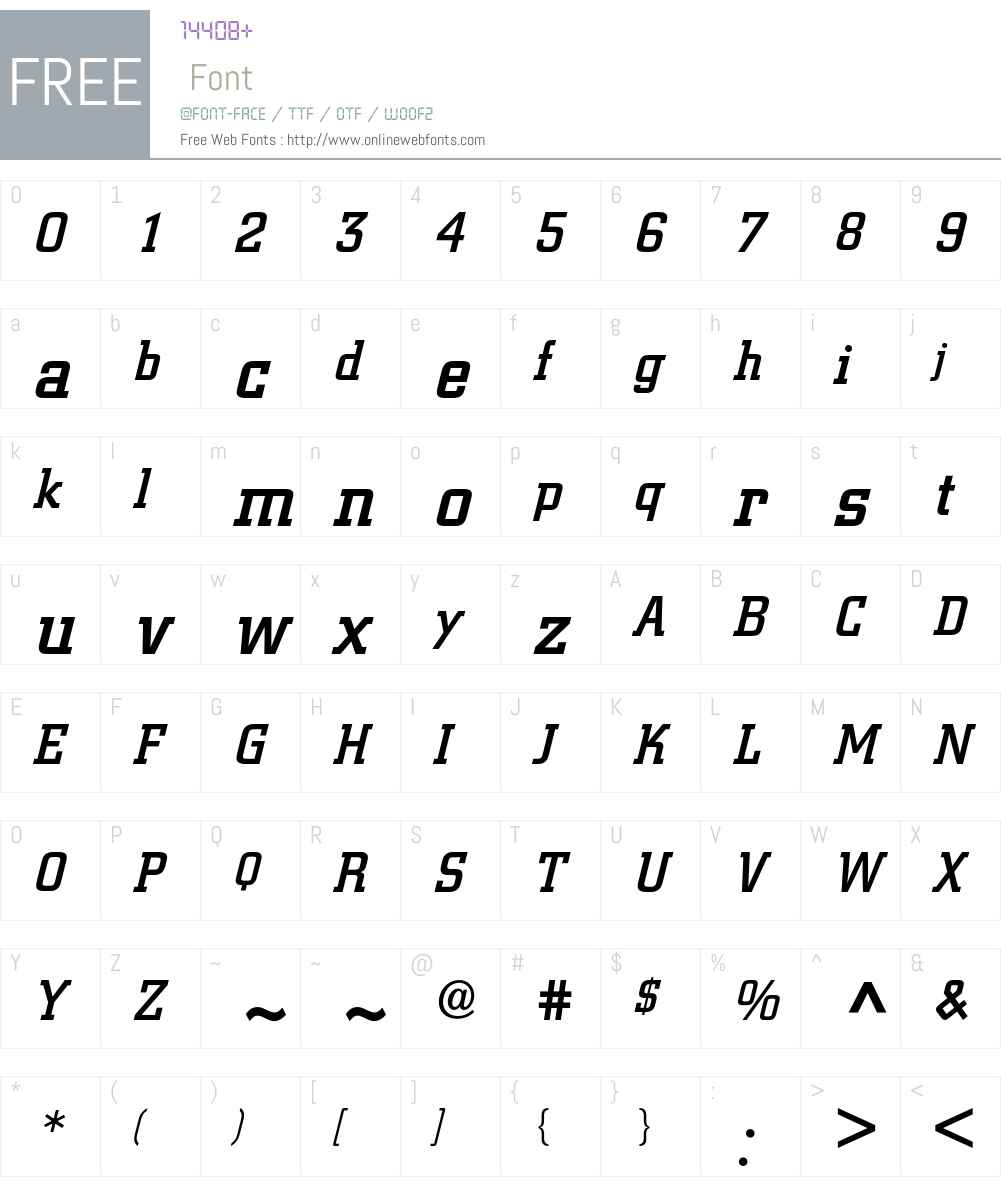 Berthold City Font Screenshots