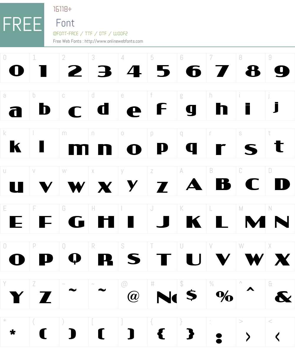 LHF Bell Boy Font Screenshots