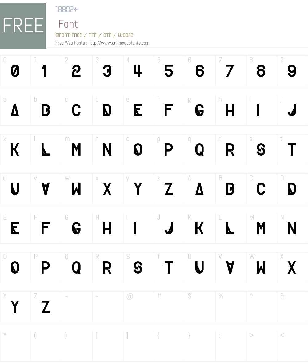 Creatif Font Screenshots