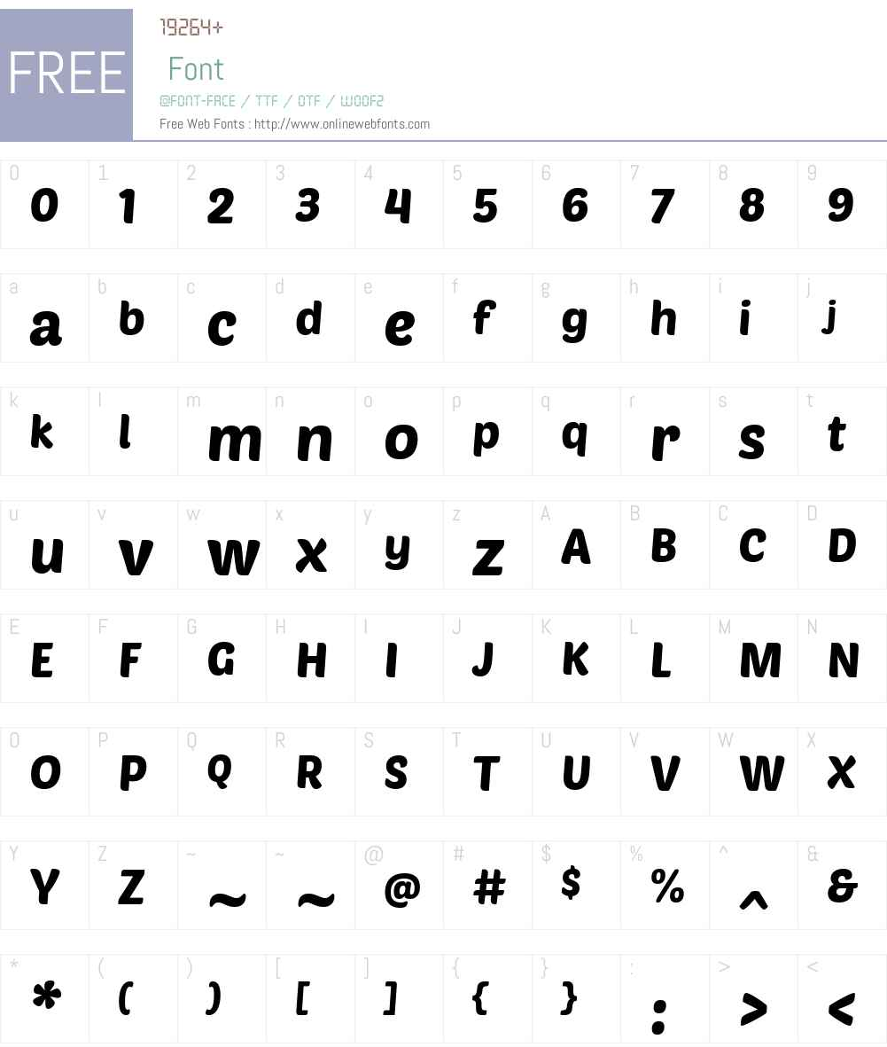 PoetsenOne Font Screenshots