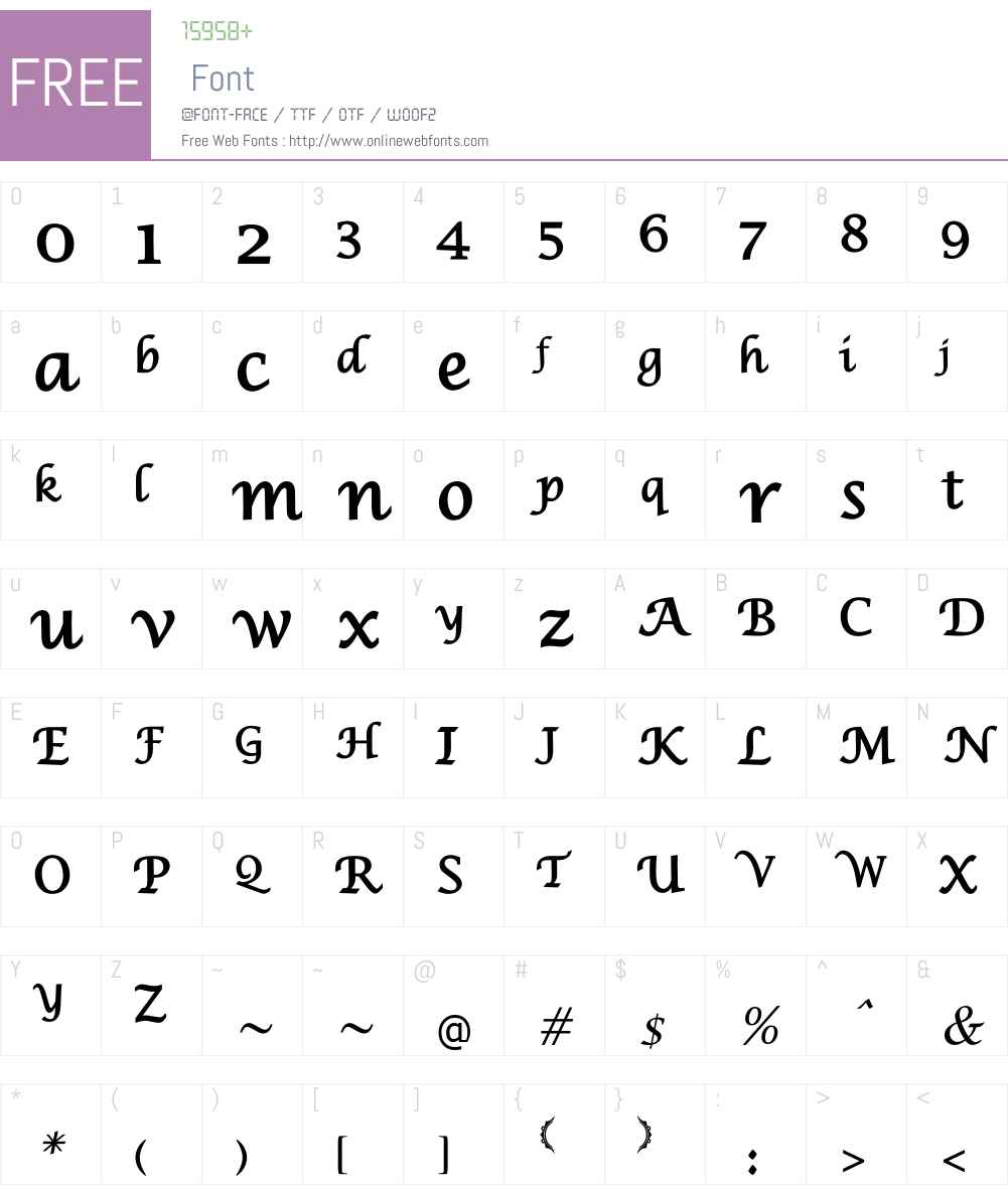 IranNastaliq Font Screenshots