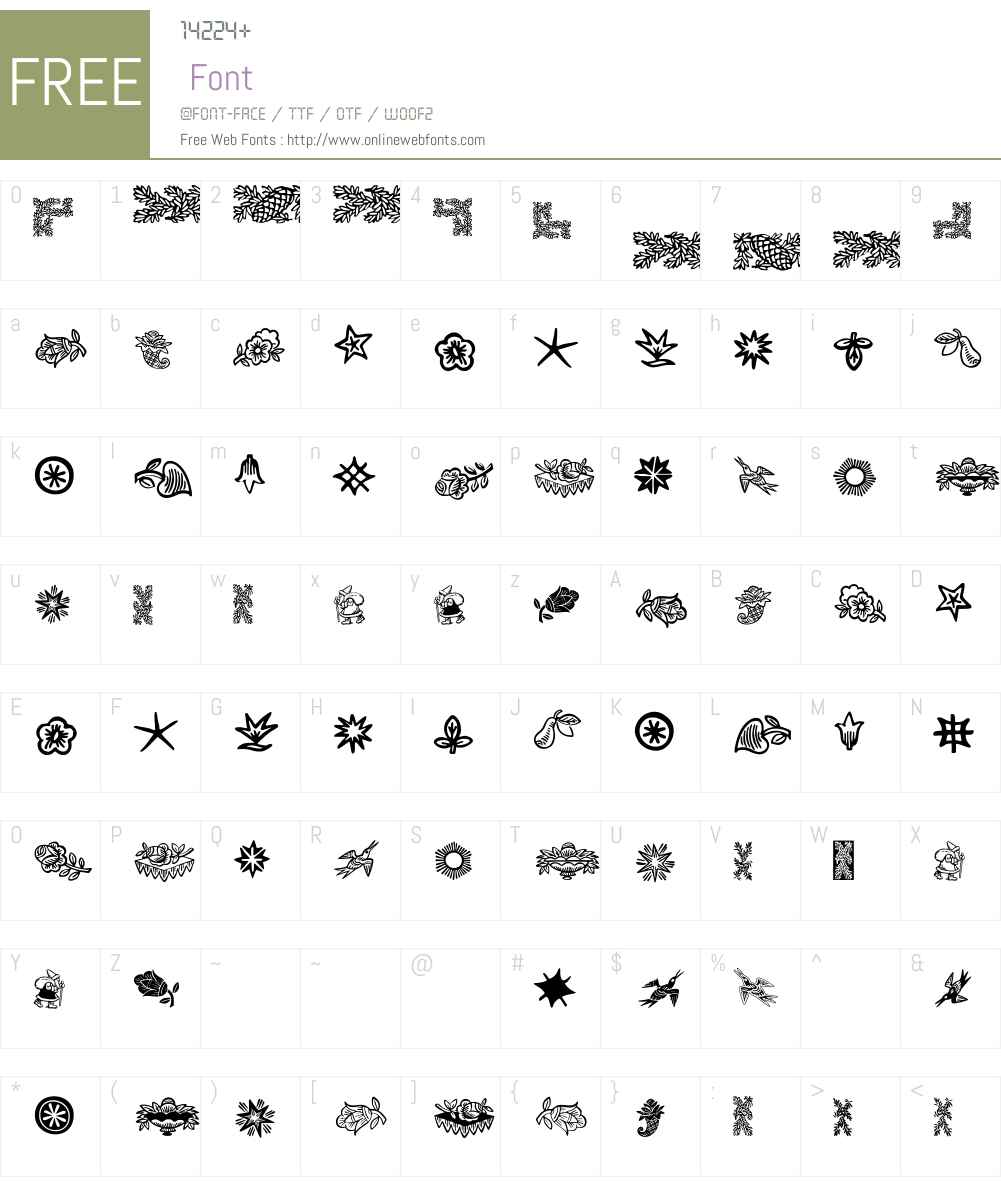 DeutscherSchmuck Font Screenshots