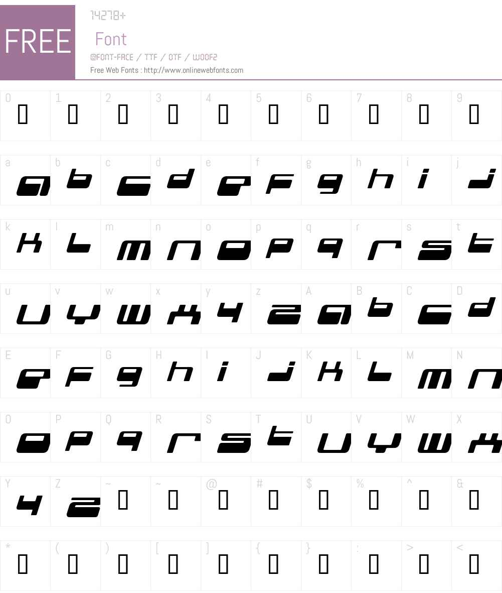 genotype Font Screenshots
