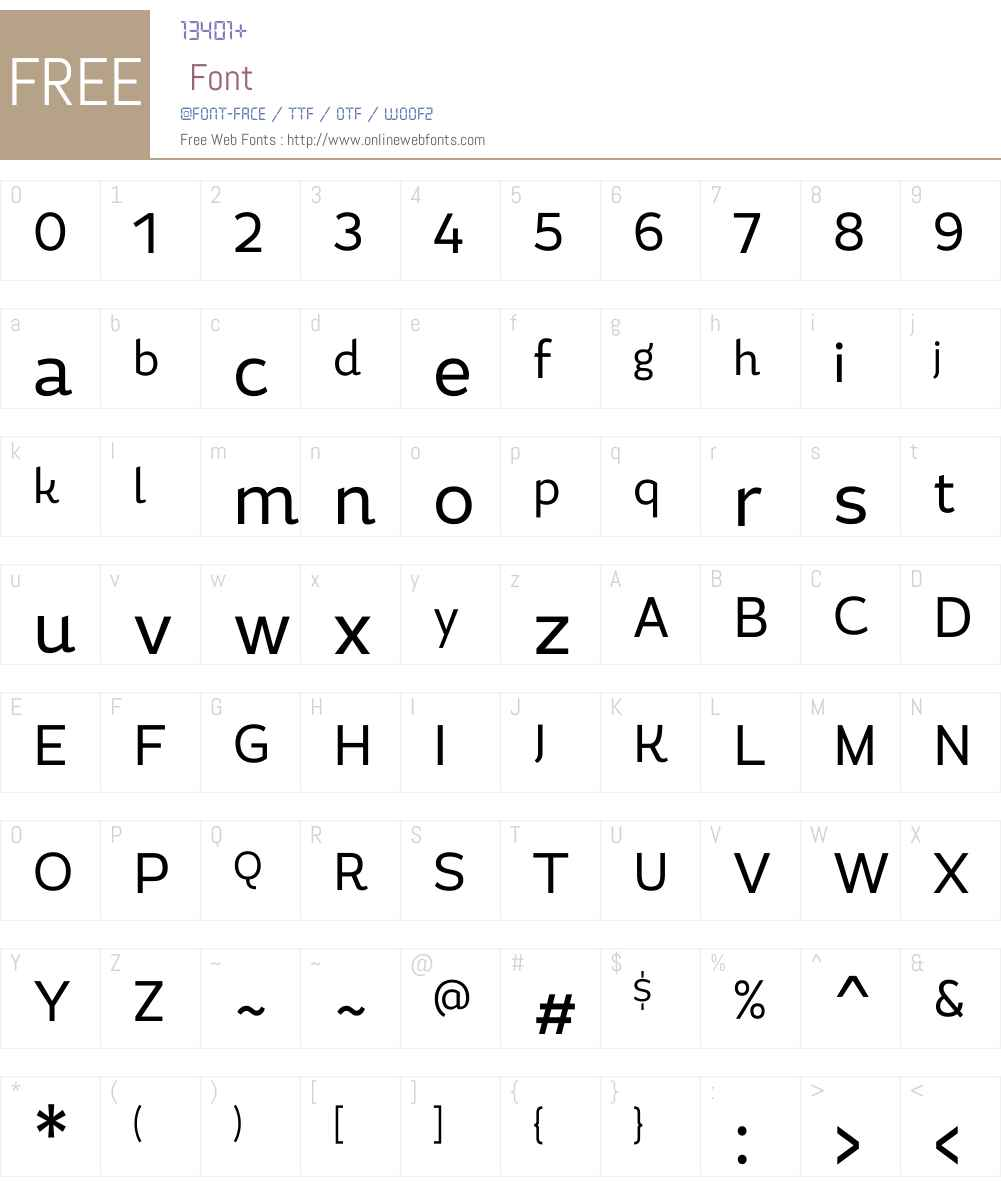 MagallanesCondW00-Regular Font Screenshots
