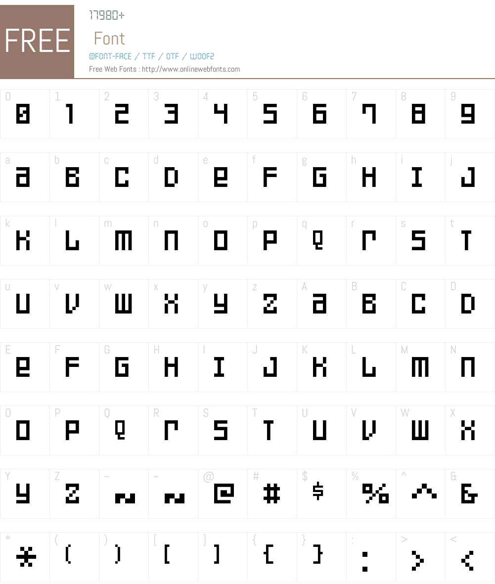 FFF Games Thin Font Screenshots