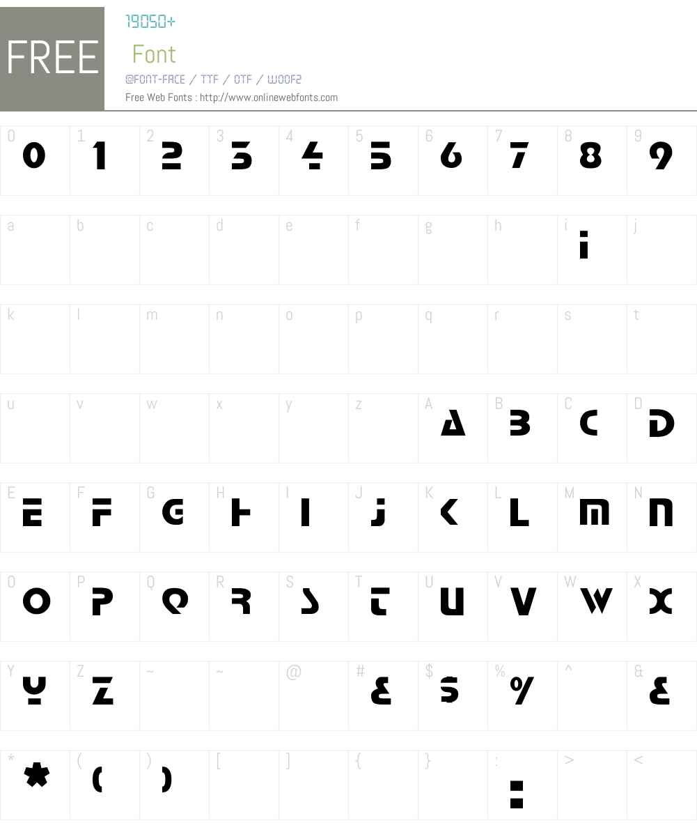 Comaro Font Screenshots