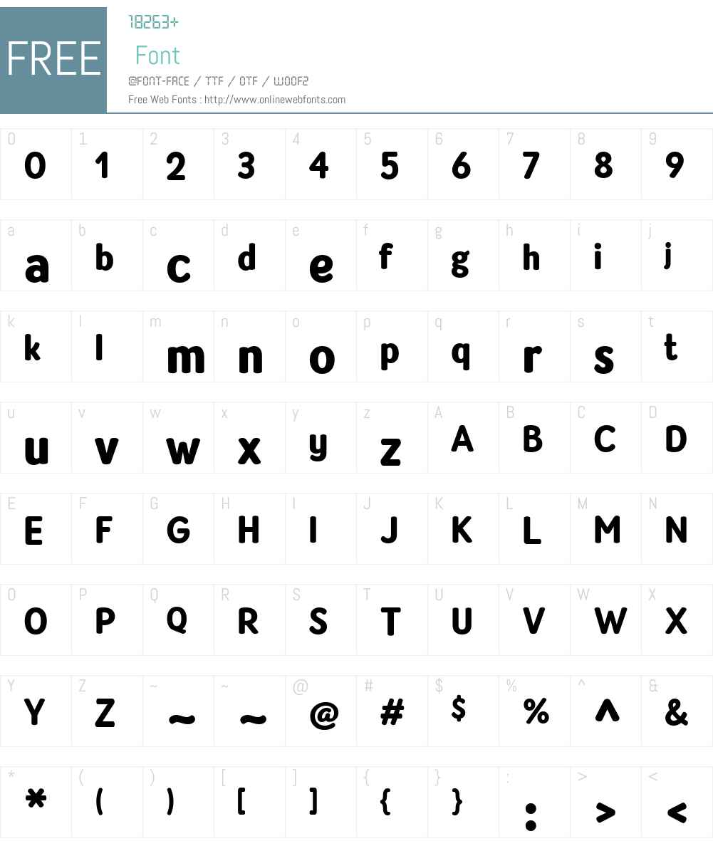 AmberlySans-Black Font Screenshots