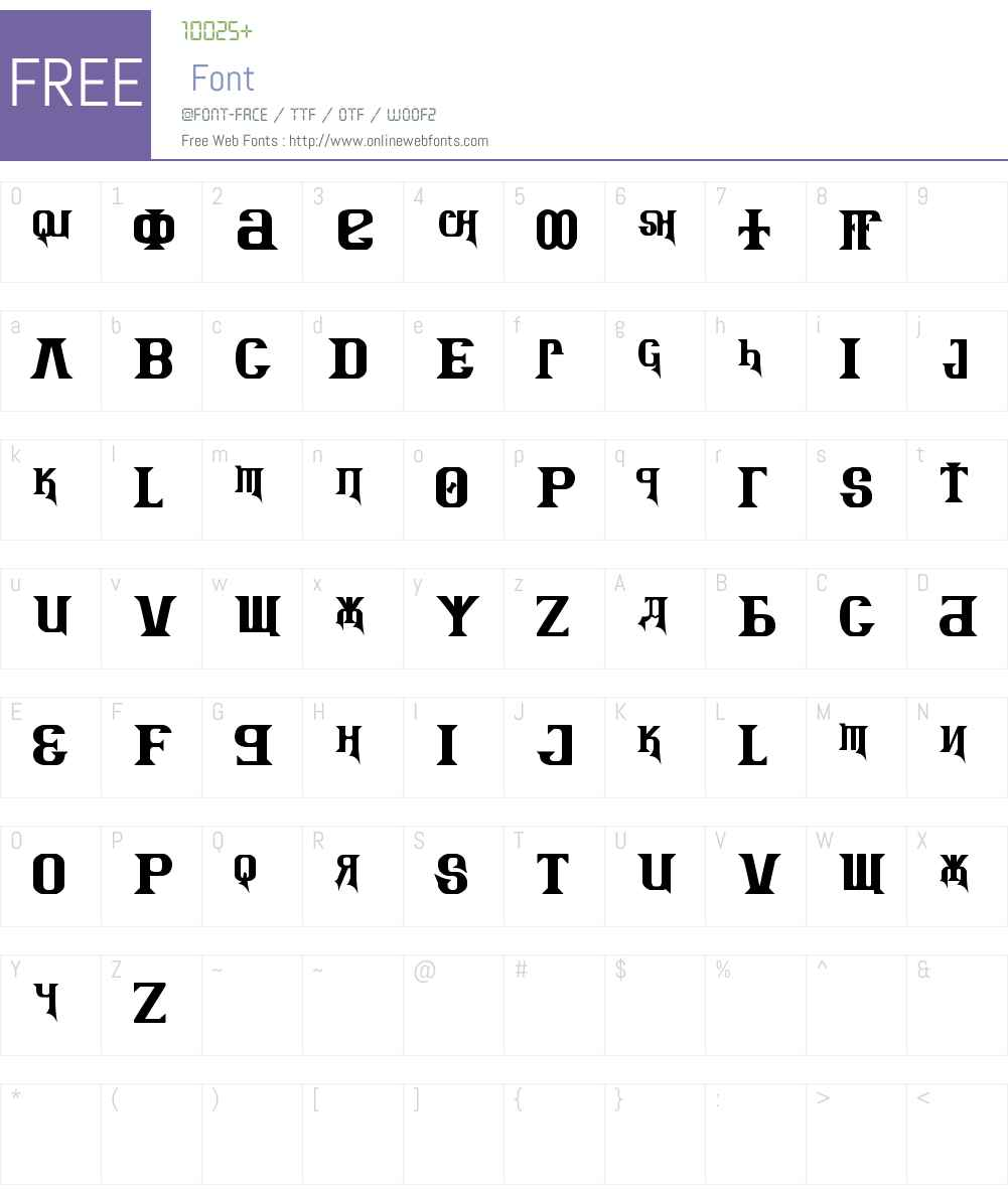 Kremlin Advisor Display Kaps Bo Font Screenshots