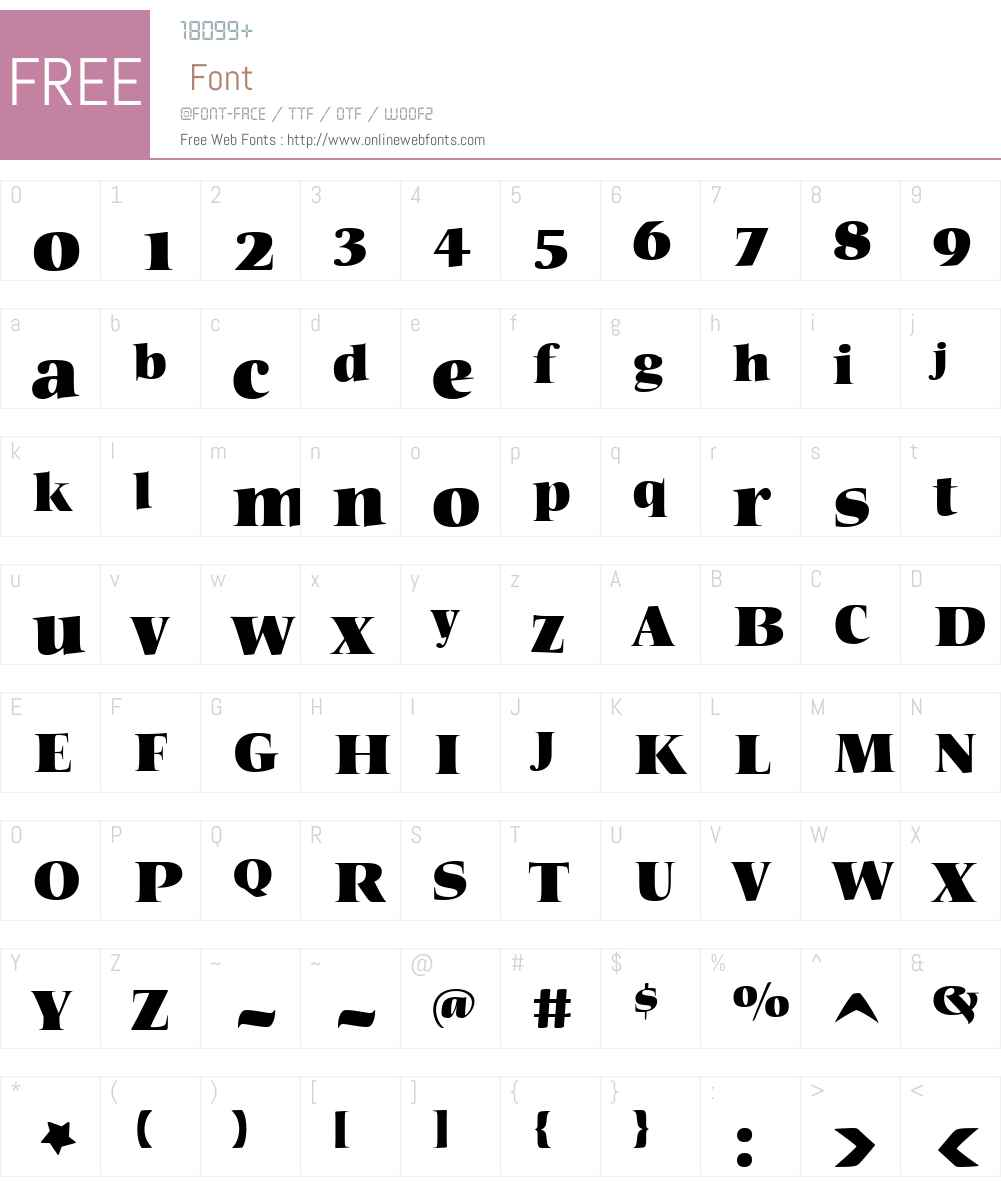 HSHeadlineW01-Regular Font Screenshots