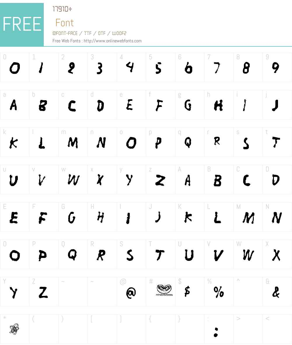Liitu Font Screenshots
