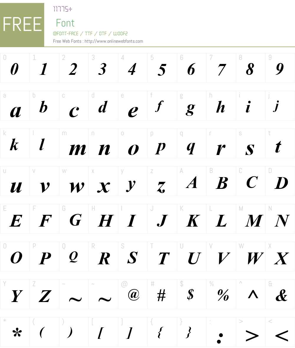 Tempo Esperanto Font Screenshots