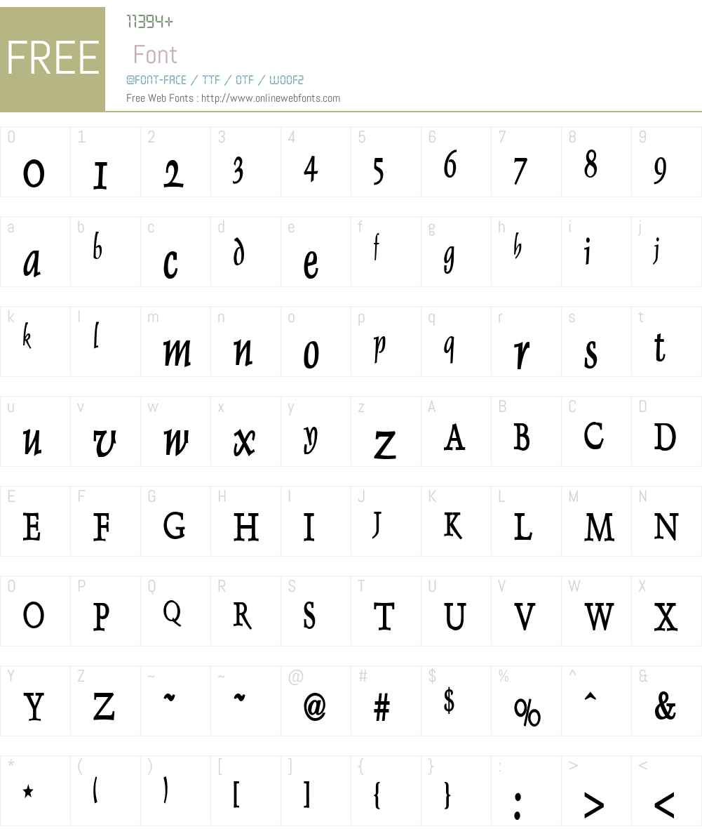 Dolphin Thin Font Screenshots