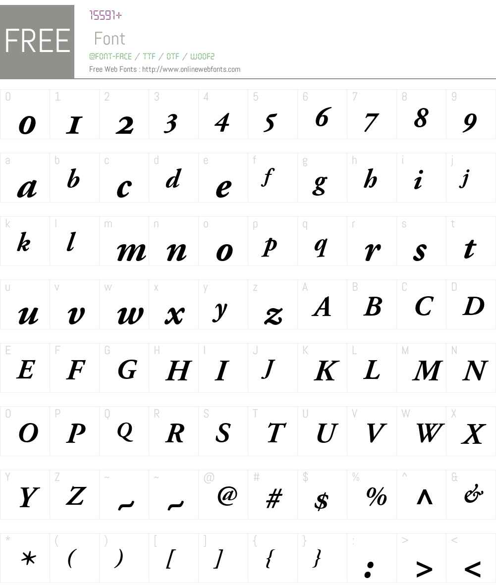 AGaramond BoldOsF Font Screenshots