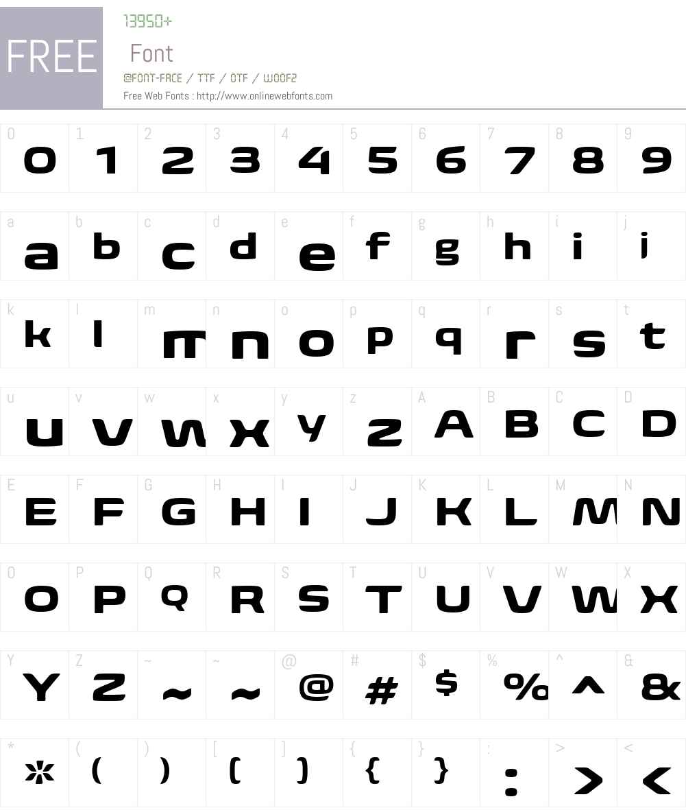 BiomeW01-WideBold Font Screenshots