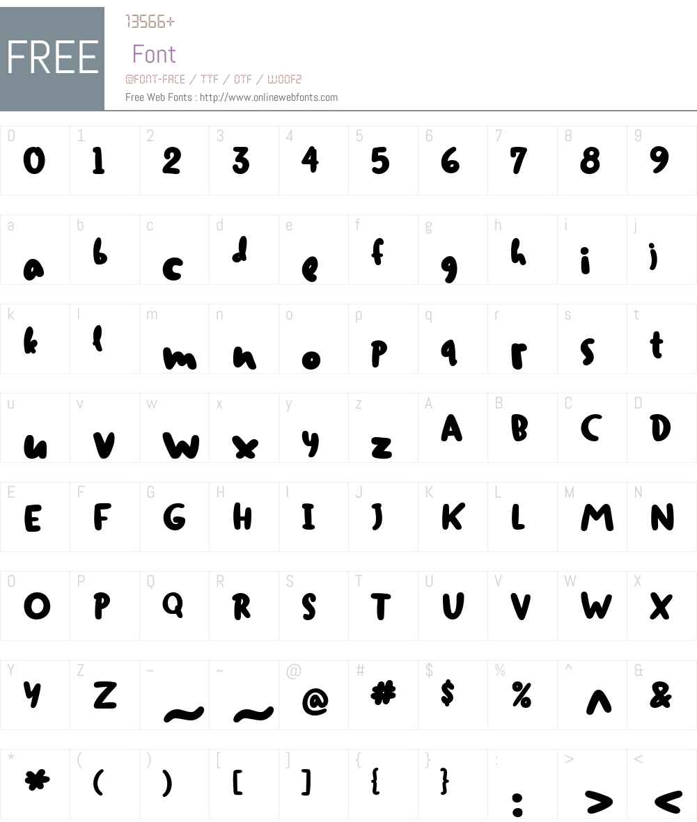 DuffyW01-ExtraBold Font Screenshots