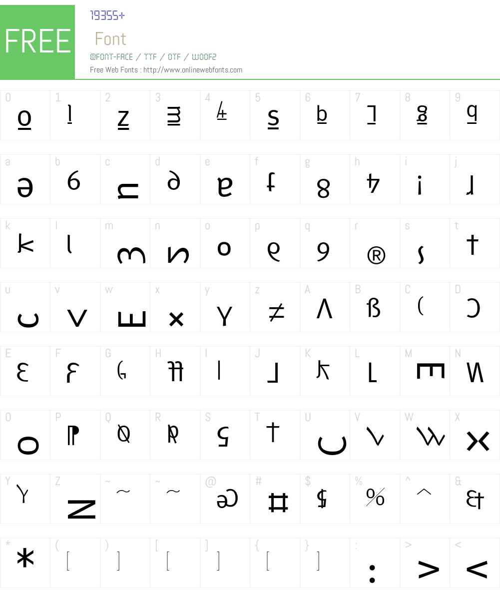 F2FMetamorfosi LT Std Font Screenshots