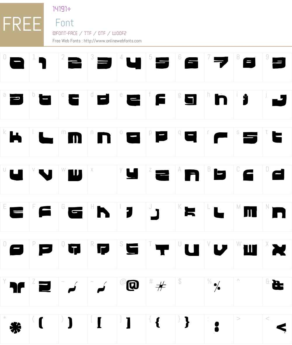 Hki Metroksin Font Screenshots