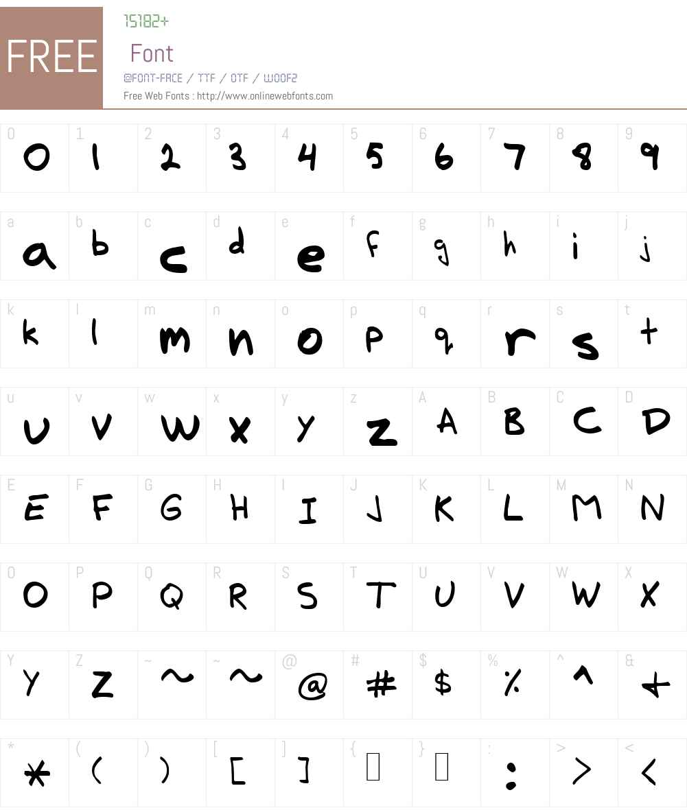Lucas Font Screenshots