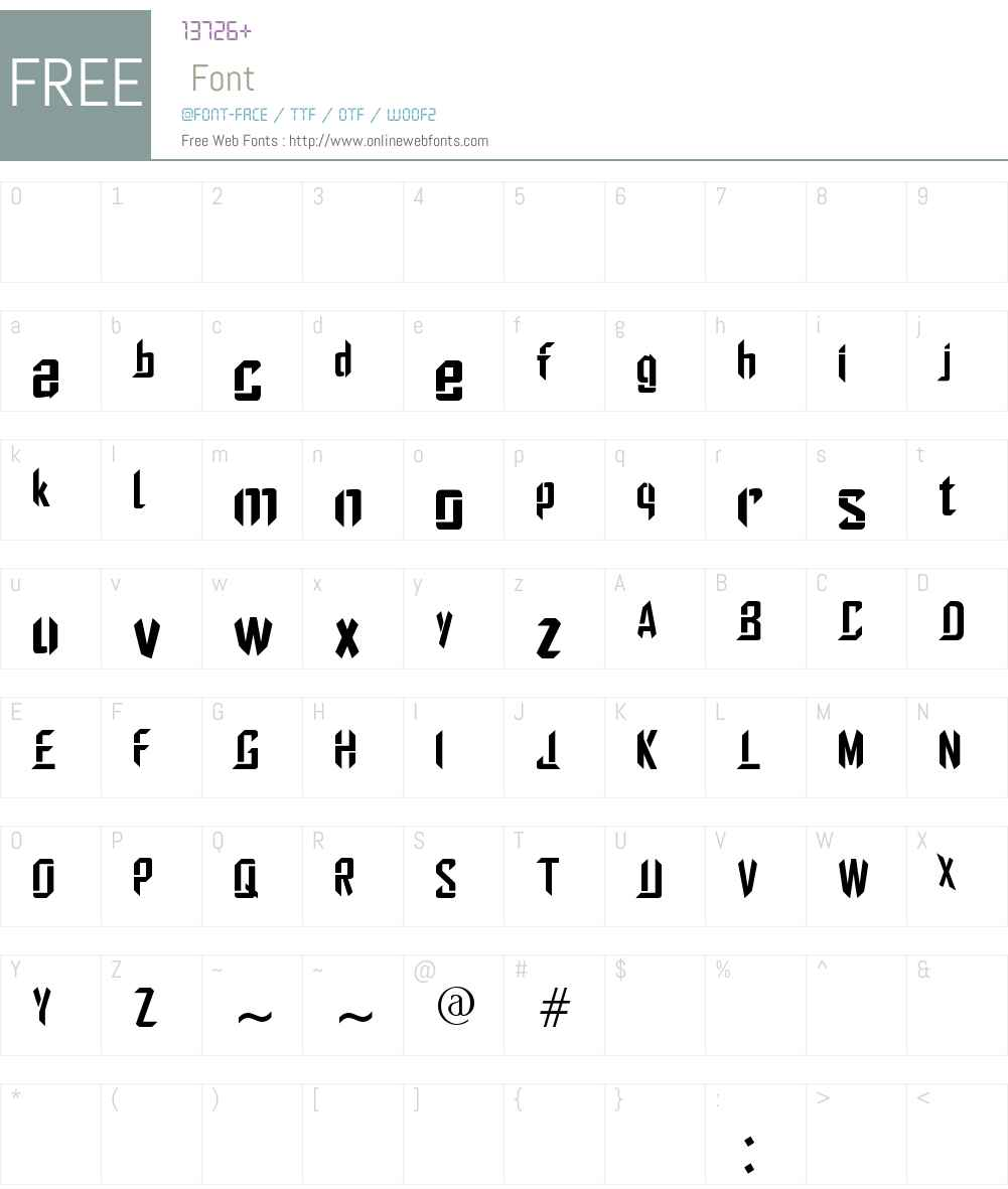 Stiletto Font Screenshots