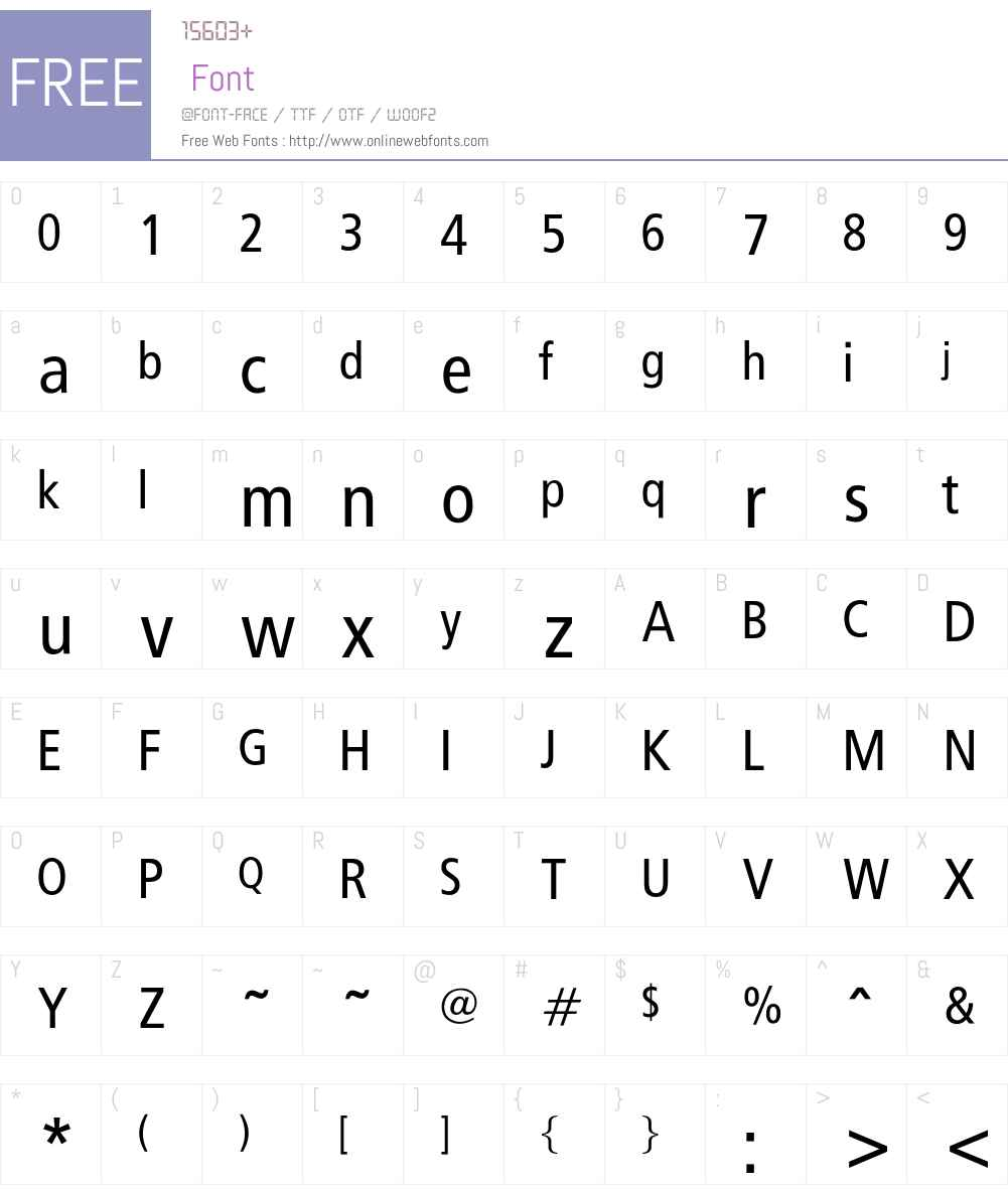 CarlosNoseven Font Screenshots