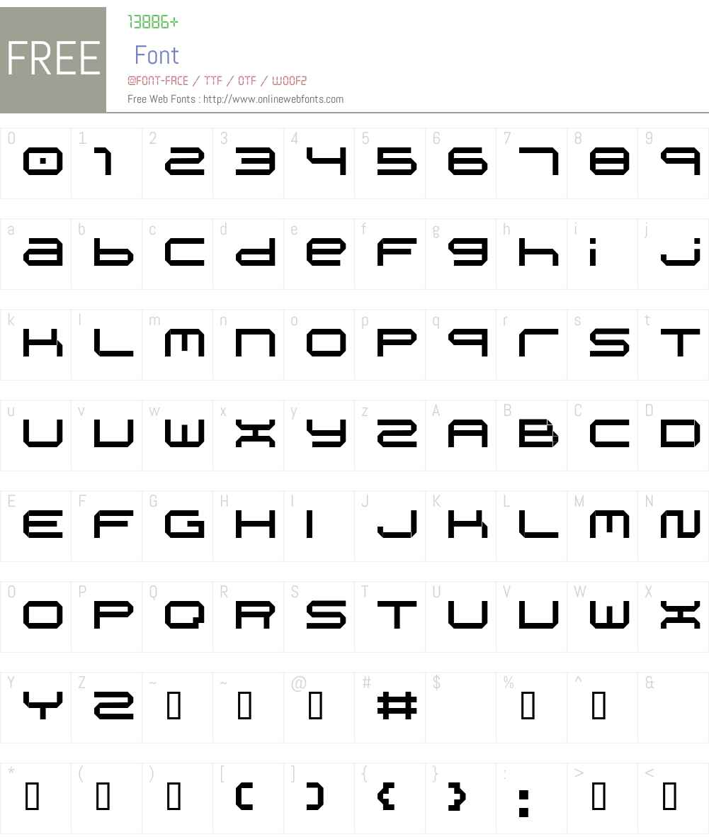 spd06 Font Screenshots