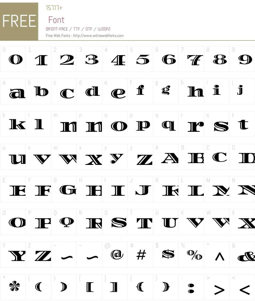 Diplomata Font Screenshots