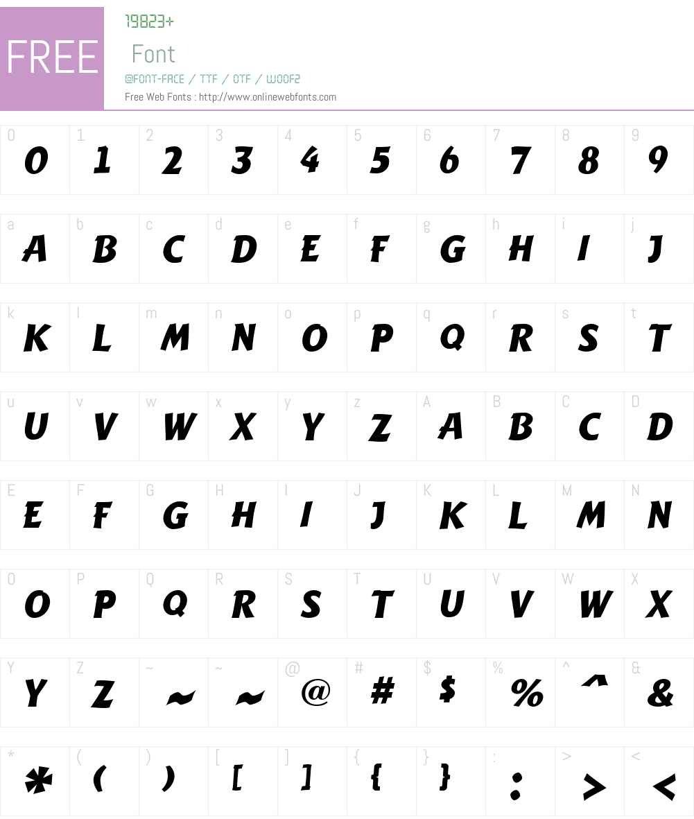 a_Writ Font Screenshots