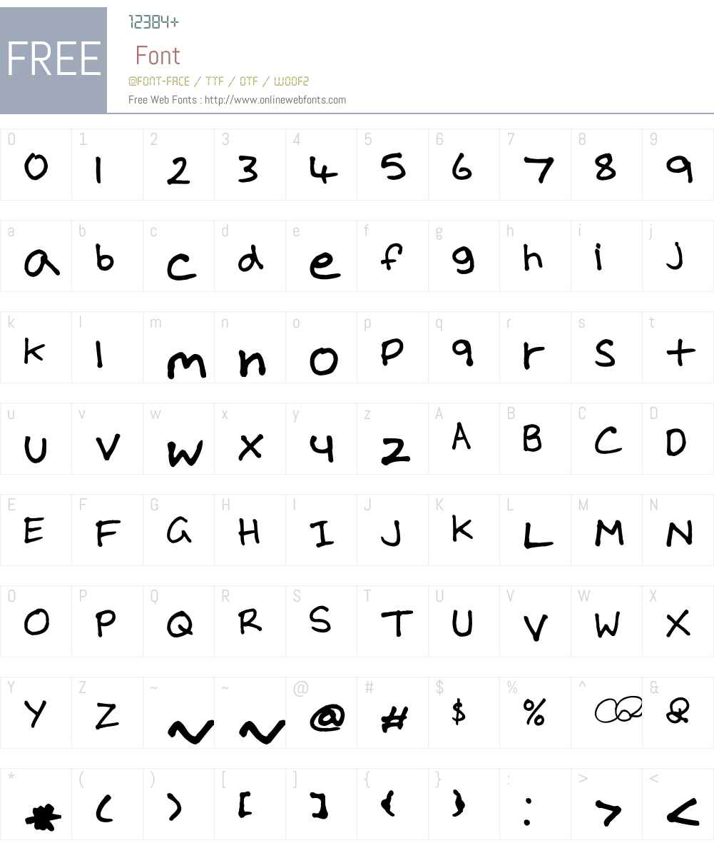 RIGG Font Font Screenshots