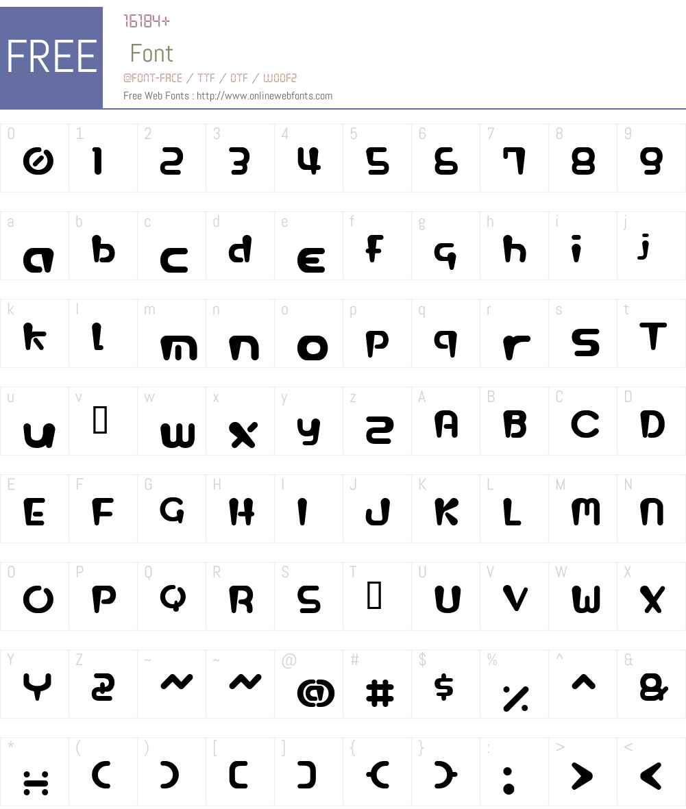 HGL Font Screenshots