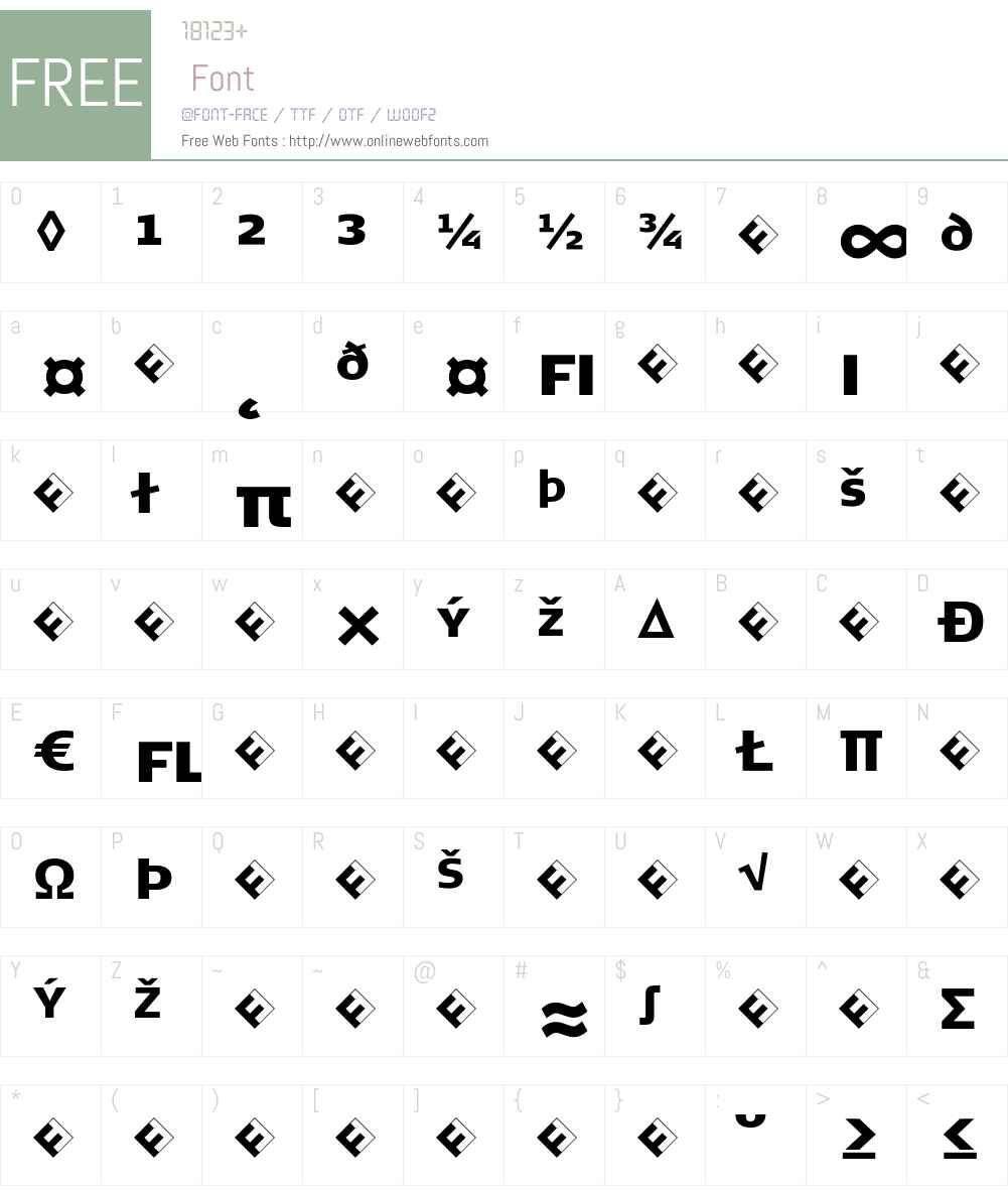 SignaCaps-BlackExpert Font Screenshots