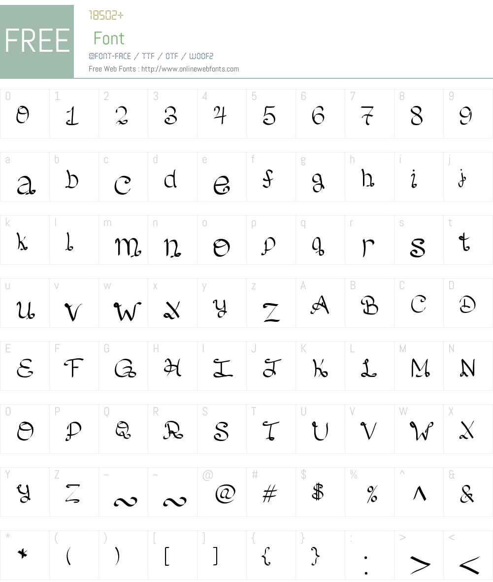 Lento Font Screenshots