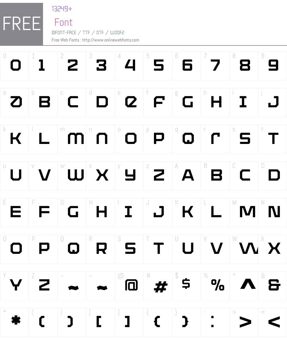 ArmaduraSolidW00-Regular Font Screenshots