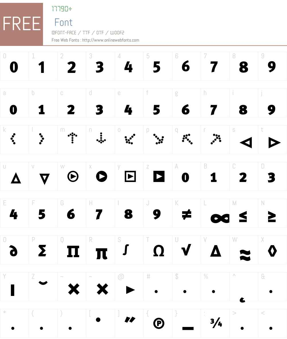 MetaBlackCyr-CapsExpert Font Screenshots