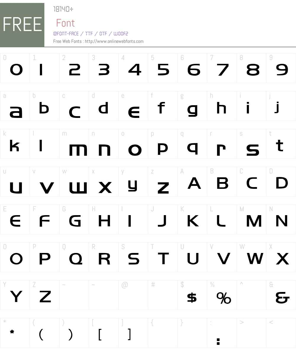 Koshgarian Font Screenshots