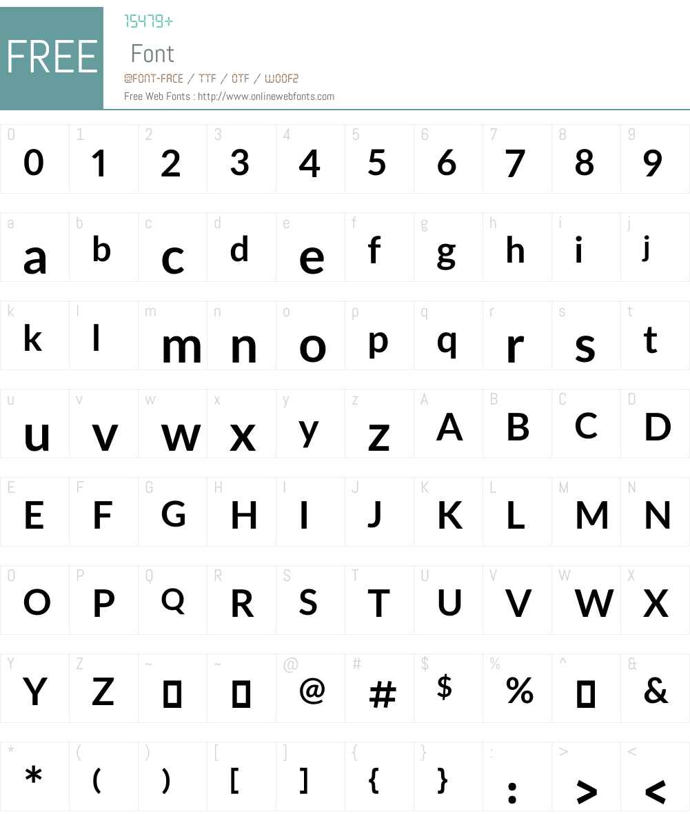 Yekan Bakh Font Screenshots