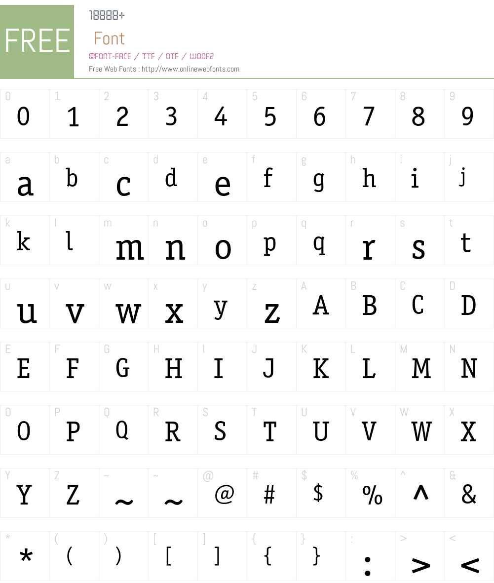 OfficinaSerifC Font Screenshots