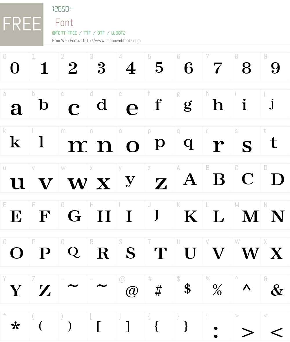 URWAntiquaW01-MediumWide Font Screenshots